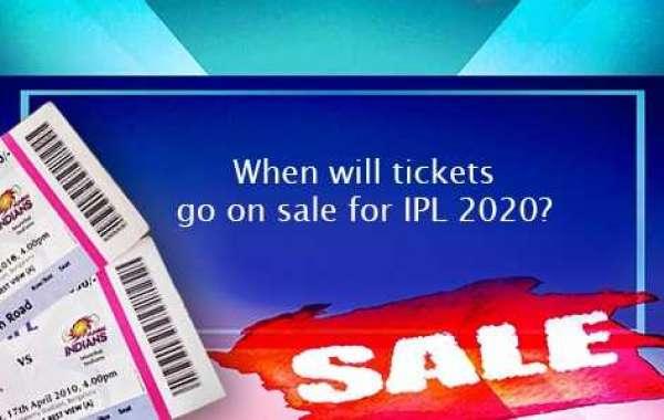 When will IPL 2020 tickets go on sale?