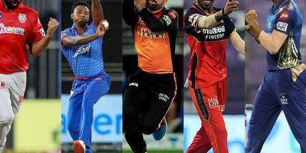 TOP 10 FAST BOWLERS AND THEIR CRICKET MATCH PERFORMANCE IN IPL 2020